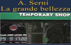 A spasso nel temporary shop – reparto numero 2. Di A.Serni