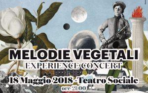 "Venerdì 18 ""Melodie Vegetali"" al Teatro Sociale di Fasano"