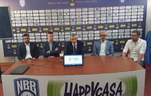 Presentato il nuovo progetto della New Basket Brindisi: ecco coach Vitucci ed il Ds Gioffrè