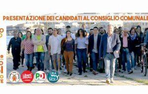 Domani in Piazza Vittoria la presentazione di tutti i candidati a sostegno di Riccardo Rossi