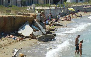 """I progetti per la costa della coalizione di Rossi: """"Recupereremo la spiaggia ex sottufficiali, con la piscina sul mare e l'area retrostante del camping per un grande lido pubblico"""""""