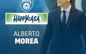 Alberto Morea nuovo assistente allenatore della New Basket Brindisi