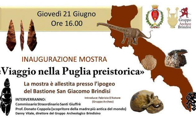 """Oggi si inaugura la mostra """"Viaggio nella Puglia Preistorica"""""""