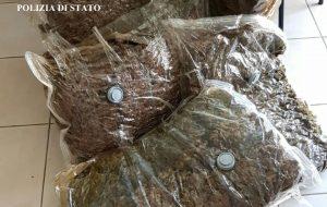 In auto con 20 Kg di marijuana: arrestato 50enne calabrese