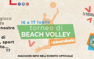 """SUD – Studenti Universitari delle Distaccate e Community HUB Brindisi organizzano il """"1° Torneo di Beach Volley Universitario"""""""