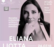 Martedì 24 luglio Eliana Liotta ospite di Librinfaccia