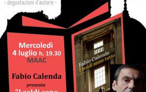 """Fabio Calenda inaugura a Ceglie la nuova edizione di """"Un Castello di Libri – Degustazioni d'Autore"""""""