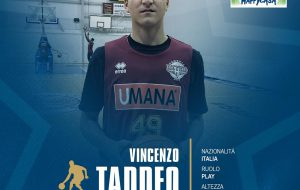 Il giovane talento Vincenzo Taddeo alla Happy Casa per la stagione 2018/19