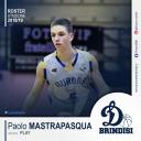 La Dinamo Brindisi tessera Paolo Mastropasqua