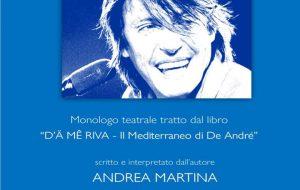 """Oggi Andre Martina presenta """"D'Ä MÊ RIVA"""" alla Caffetteria Letteraria Nervegna"""