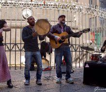 """""""Music on the road"""": lo spettacolo dei musicisti di strada a Mesagne"""