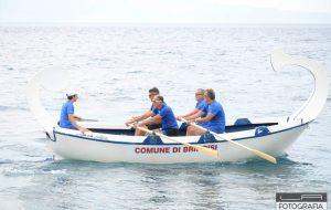 """L'equipaggio del Comune di Brindisi sul podio della XIII """"Regata del Mediterraneo"""""""