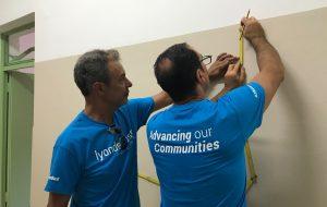 Lezione ambientale del WWF e pulizia del verde per i volontari di LyondellBasell di Brindisi