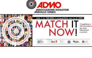 ADMO nelle piazze italiane per il Match It Now