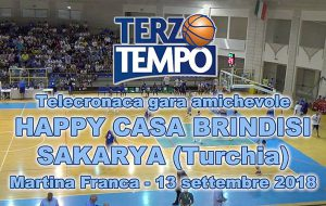 Happy Casa Brindisi-Sakarya: 80-56. Il video integrale di Agenda Brindisi