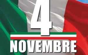4 Novembre: alle 11.00 la tradizionale cerimonia in Piazza Santa Teresa
