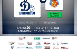 La Dinamo Brindisi attende la Virtus Molfetta