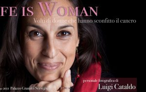 "Cuore di donna dona i ritratti della mostra ""Life is woman"" all'U.O.C. di Oncologia medica e Breast unit"