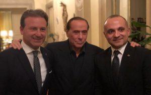 """D'attis e Damiani incontrano Berlusconi e Tajani: """"si apre la stagione congressuale di Forza Italia"""""""