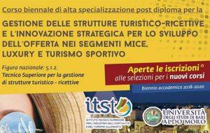 Esperti nel settore turistico. Al via a Brindisi il corso biennale di alta specializzazione post diploma organizzato dall'ITST. Iscrizioni entro il 13 ottobre