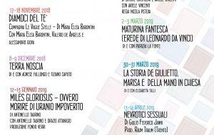 Una Stagione da ricordare: il nuovo programma del Teatro Kopó Brindisi