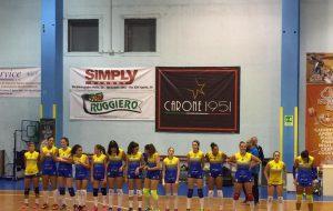 Primo stop per le ragazze del Mesagne Volley