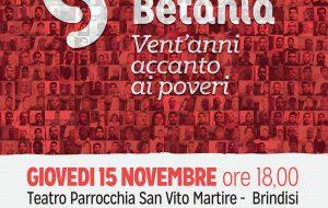 """""""Casa Betania, Vent'anni accanto ai poveri"""": Giovedì 15 mostra fotografica e dibattito alla parrocchia San Vito Martire"""