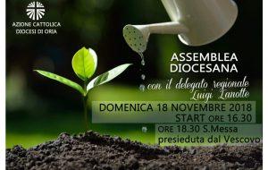 Diocesi di Oria: domani Giornata mondiale dei Poveri e Assemblea dell'Azione Cattolica