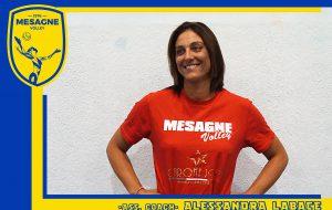 """Mesagne Volley, Alessandra Labate: """"L'obiettivo è ripartire"""""""