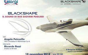 "Il ""Giorgi"" incontra Angelo Petrosillo, fondatore di Blackshape Aircraft"