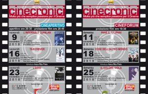 """Film cult per la rassegna """"Cinecronici"""" di novembre"""