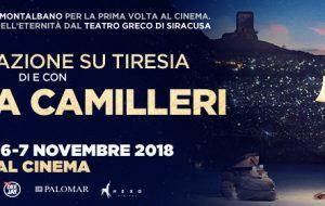 """All'Andromeda di Brindisi """"Conversazione su Tiresia"""" di e con Andrea Camilleri"""