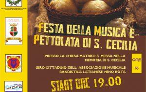 """A Latiano si prepara la """"Festa della Musica e Pettolata di Santa Cecilia"""""""