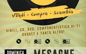 Domenica arriva a Mesagne la 1^ Fiera del Disco (Vendi-Compra-Scambia)