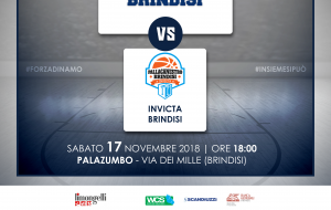 La Dinamo Brindisi prepara il derby contro l'Invicta