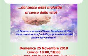 """Domenica 25 a Brindisi il seminario """"Auto-guarigione olistica: dal senso delle malattie al senso della vita!"""""""