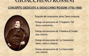 Un concerto per i 150 anni dalla morte di Giacchino Rossini