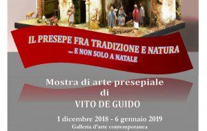 """Il presepe fra tradizione e natura,…e non solo a Natale: mostra di arte presepiale a """"Le Ali di Mirna"""""""