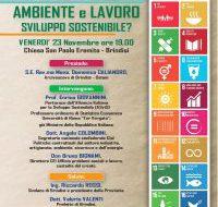 """Oggi convegno della Pastorale Sociale su """"Ambiente e Lavoro: sviluppo sostenibile?"""""""