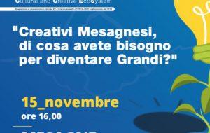 Continua a Mesagne il Tour del progetto TRACES: Creativi di che cosa avete bisogno per diventare Grandi?