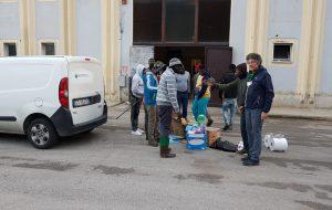 Ecotecnica partecipa alla giornata di solidarietà nei confronti degli ospiti del dormitorio
