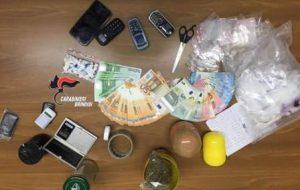 Studente universitario detiene 30 grammi di coca e 28 di erba: arrestato
