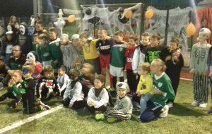 La Festa di Halloween della Scuola Calcio Us San Vito