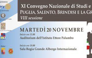 La Puglia, il Salento, Brindisi e la Grande Guerra: se ne parla il 20 Novembre al Palumbo e al Grande Albergo Internazionale