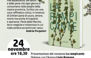 """Davide Grittani presenta """"La Rampicante"""" alla Caffetteria Letteraria Nervegna"""