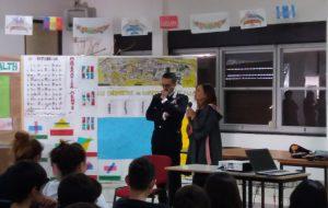 Lezione di legalità del Colonnello De Magistris alla Scuola di Sant'Elia
