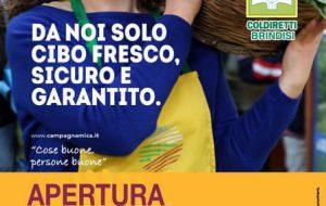 Sabato 1 Dicembre apre il Mercato contadino di Coldiretti in Via Appia 226