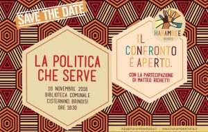 Venerdì 16 Matteo Richetti a Cisternino