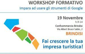 A Brindisi workshop informativo di ConfCommercio dedicato alle imprese turistiche