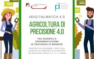 Agricoltura di precisione 4.0: Martedì 18 la presentazione delle novità del settore alla Camera di Commercio